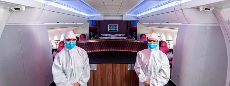 卡達航空免費為留遊學生提供40公斤托運行李限額及機票優惠。圖/卡達航空提供
