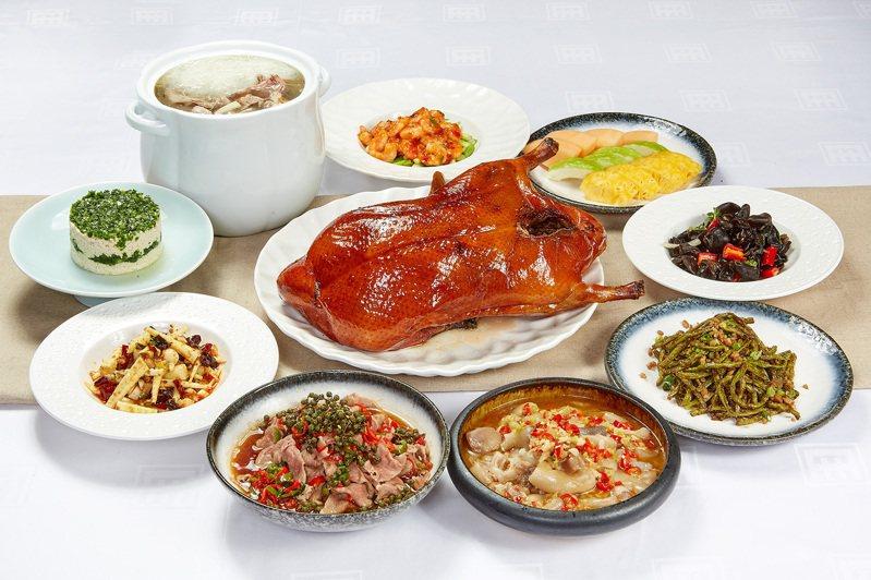 台北國賓川菜廳推出「振興四人套餐」。圖/台北國賓提供