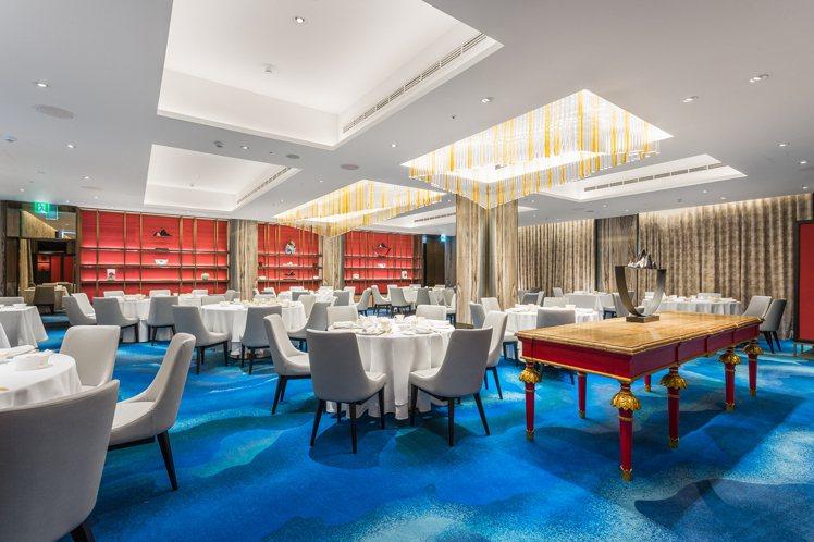國賓川菜廳去年歷時5個月大規模裝修,展現全新時尚風貌。圖/台北國賓提供