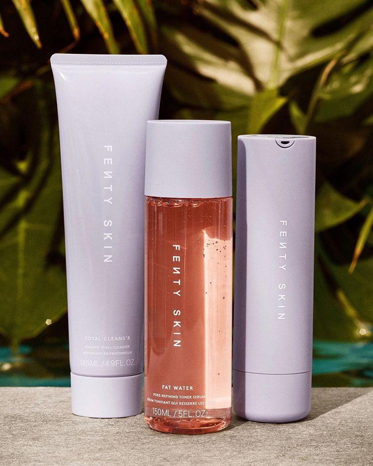 蕾哈娜自創的保養品牌Fenty Skin,首波3品項曝光。圖/摘自IG
