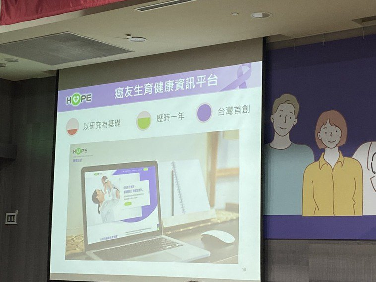 癌症希望基金會董事長王正旭表示,基金會在聽到癌友需求後,花了約一年時間建構該平台...
