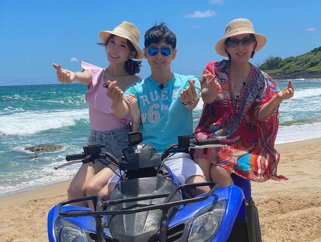 林志穎近來帶著媽媽及老婆登上真人秀節目。 圖/擷自林志穎臉書
