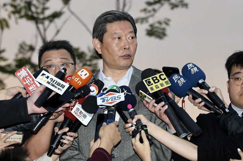 李登輝辦公室主任王燕軍。 圖/聯合報系資料照片