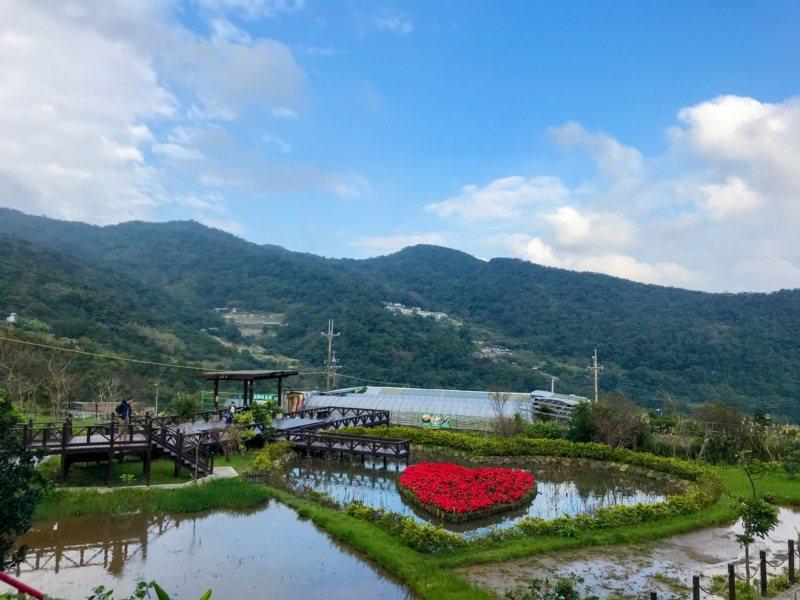 熱門觀光景點的白石湖,在北市府及地方努力下,對準「浪漫市場」,打造知名的同心池,...