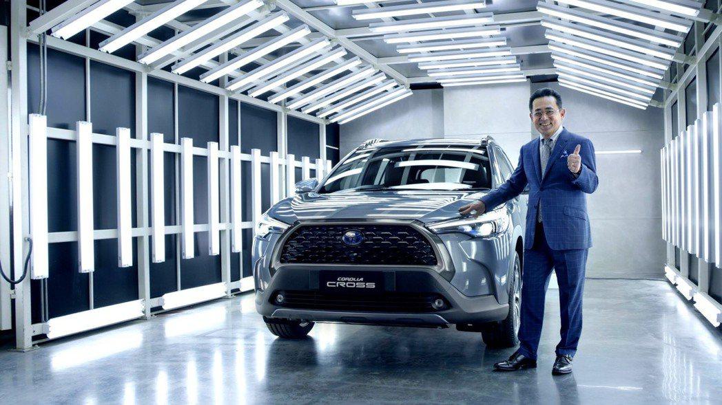 TOYOTA Corolla Cross將是近期TOYOTA旗下最重要的全新國產...
