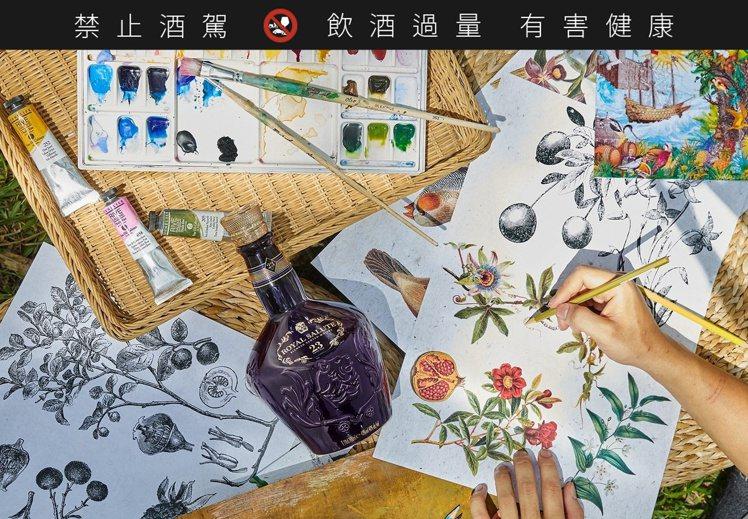 注入台灣DNA的皇家禮炮23年。圖/保樂力加提供