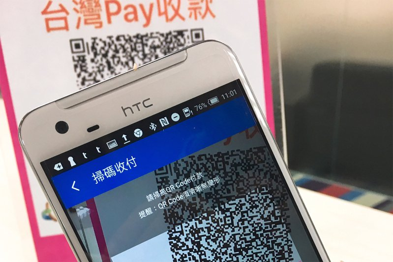 時代力量立委邱顯智今天說,財政部為推廣台灣PAY,強迫公股行庫行員綁定三倍券,財政部否認。示意圖/財金公司提供