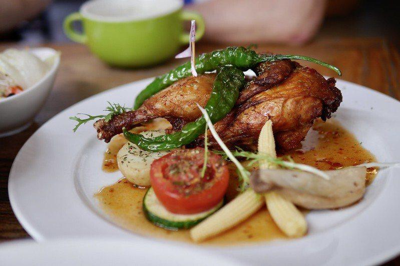 法國香草烤春雞