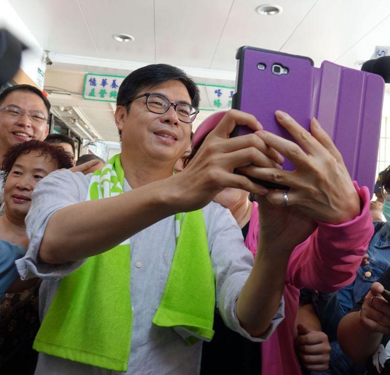 民進黨高雄市長補選候選人陳其邁。 圖/聯合報系資料照片
