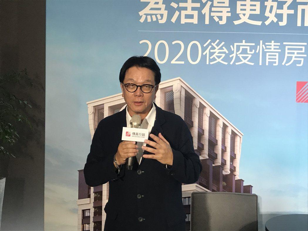 傳真行銷董事長王明成。記者游智文/攝影