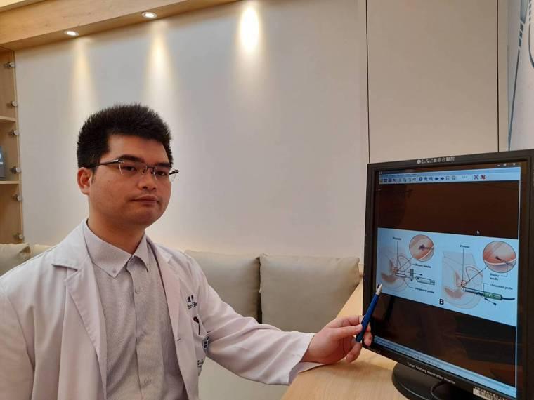 童綜合醫院泌尿科醫師呂謹亨表示,新式多參數磁振造影融合超音波影像經會陰攝護腺切片...