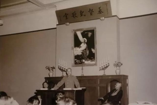 蔣中正抗戰前祈禱戰勝,抗日勝利後,將南京小紅山官邸改建為小紅山基督凱歌堂。圖/翻攝自網路