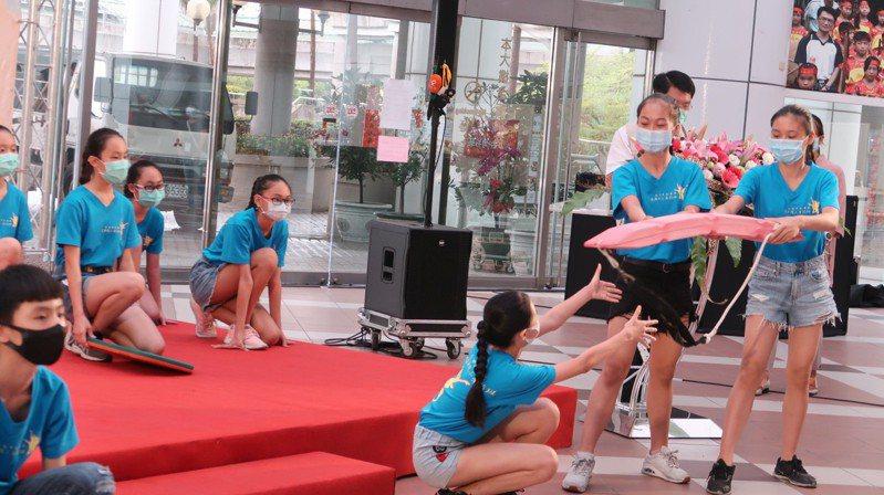 台南市防溺水,加強水域安全宣導。圖/南市教育局提供