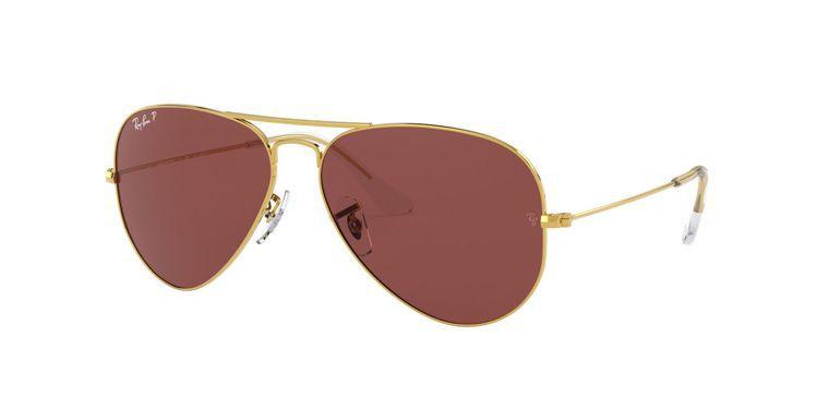 Ray-Ban Aviator系列太陽眼鏡9,450元。圖/Ray-Ban提供