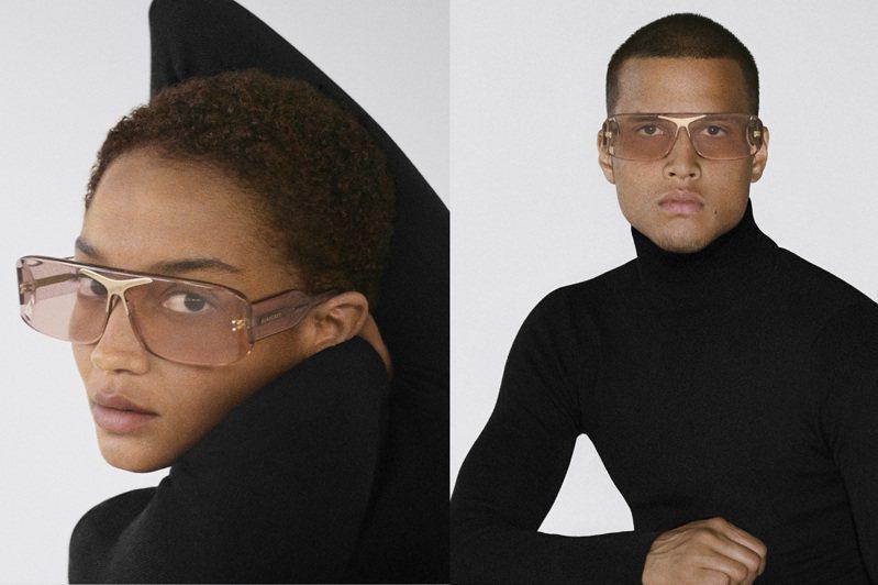 Burberry B系列Blake太陽眼鏡,男、女消費者都適合。圖/Burberry提供