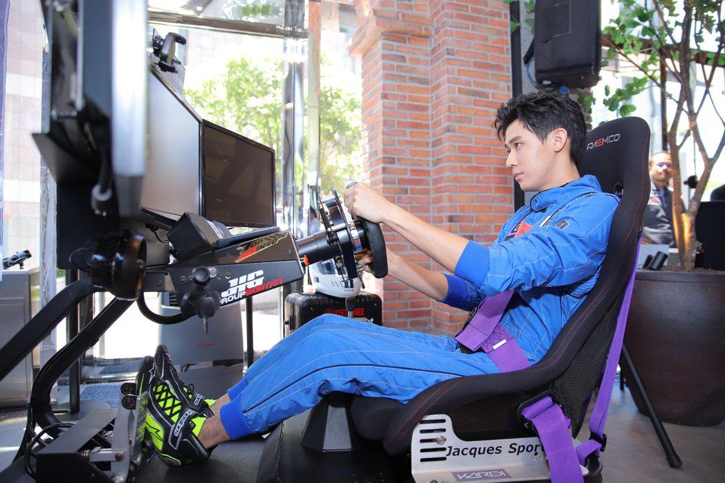 李玉璽為第一屆「挑戰者盃」亞洲電競賽車錦標賽出任台灣隊長。圖/挑戰者集團提供