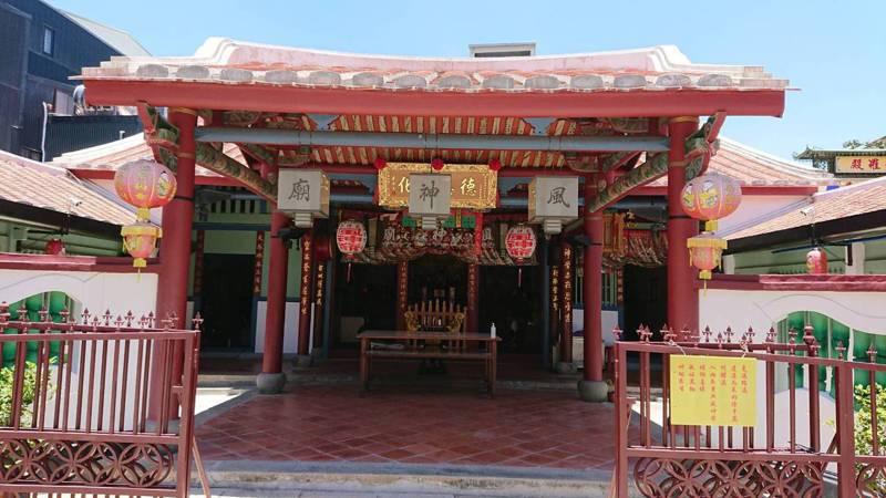 風神廟是國內唯一供奉星宿的廟宇。記者鄭惠仁/攝影