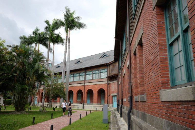 位於北門附近的台灣博物館鐵道部園區。 圖/黃仕揚 攝影