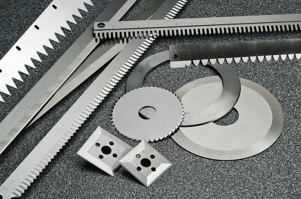 合勝制刀專精各式切割刀具。 合勝制刀/提供