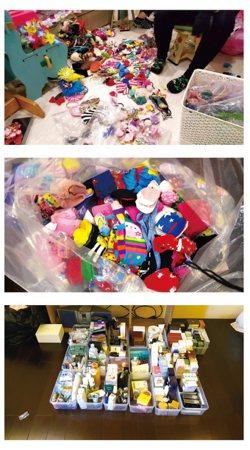 購物狂的類型,多為家裡不是亂,只是東西買太多。  圖/創意市集提供