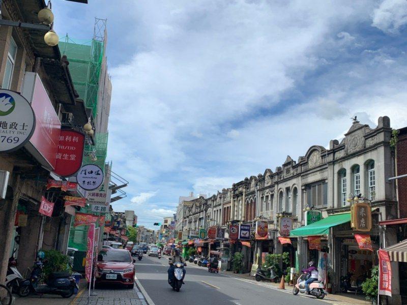 台南新化老街每一棟老屋都是生活故事館的主角。 圖/吳淑玲 攝影