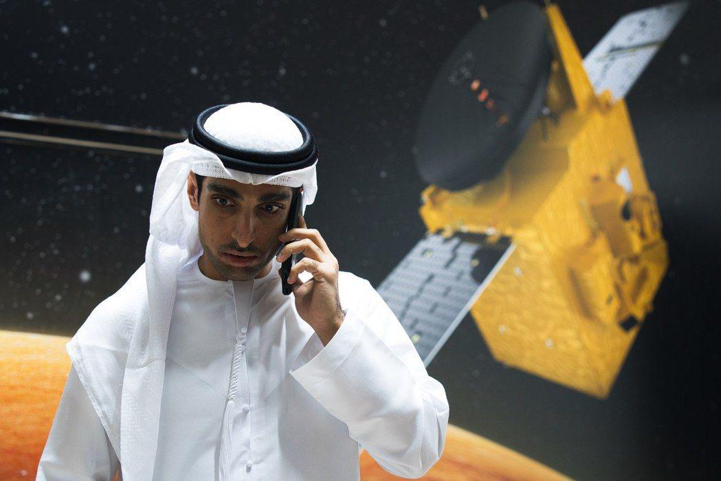 本次火星計畫的主持人沙拉夫(Omran Sharaf)。 圖/美聯社