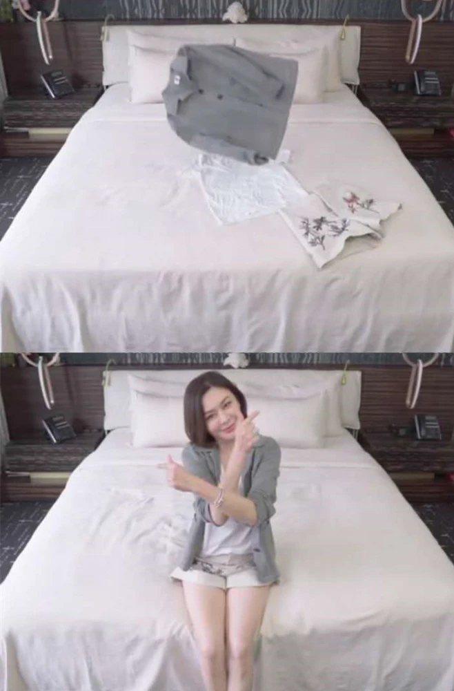 關之琳近來罕見曝光臥室曝光。圖/擷自微博