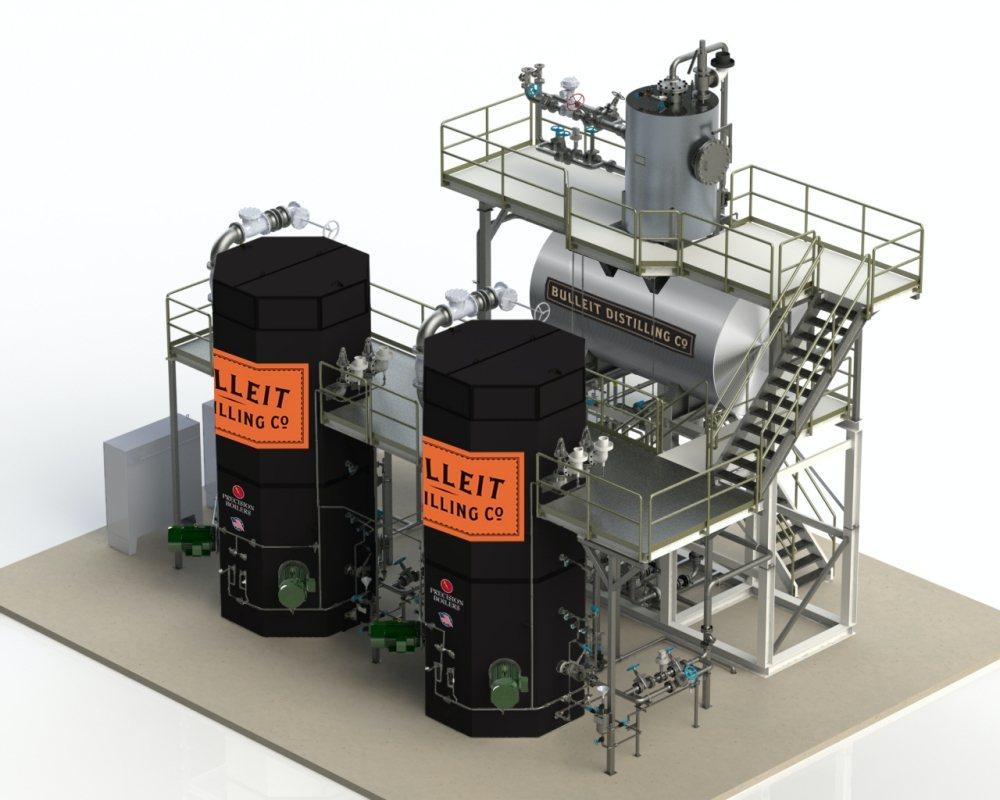帝亞吉歐位於美國肯塔基州的新釀酒廠將使用電極鍋爐,減少碳排放。 圖/Diageo...