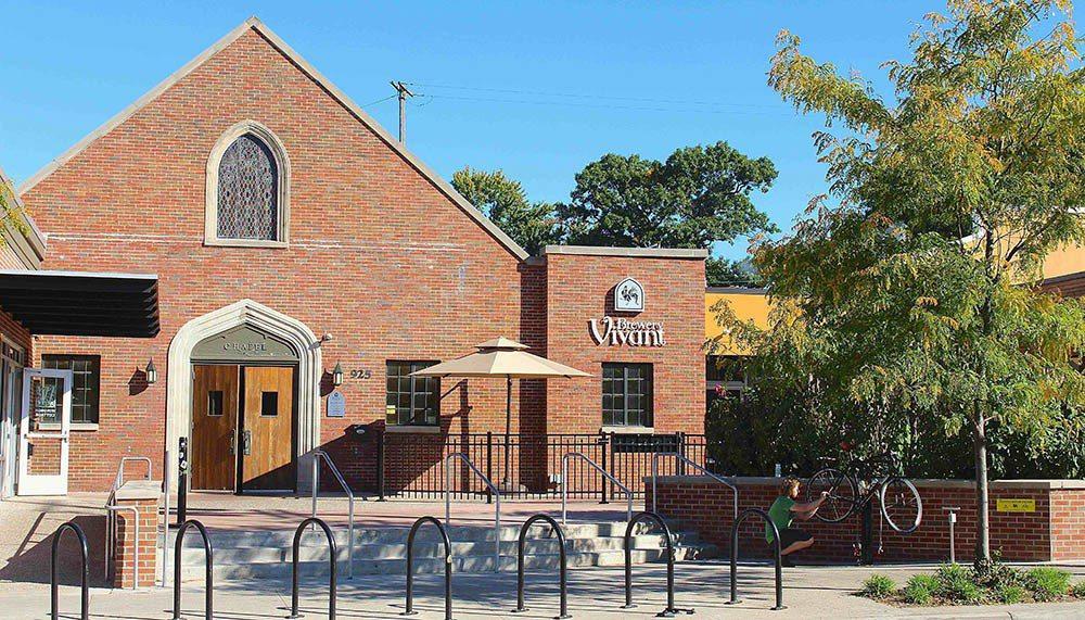 Brewery Vivant翻新老建築,讓老屋新生。 圖/Brewery Viv...