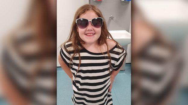 英國這位6歲女童從30公尺瀑布墜落,事後卻奇蹟生還。圖擷自BBC