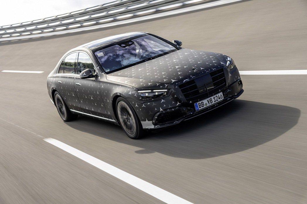 全新Mercedes-Benz S-Class即將於9月正式發表。 摘自Merc...