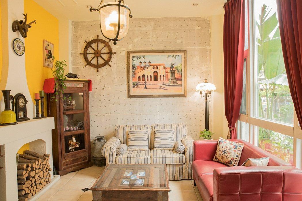 花蓮,南歐鄉村小屋。 Airbnb /提供