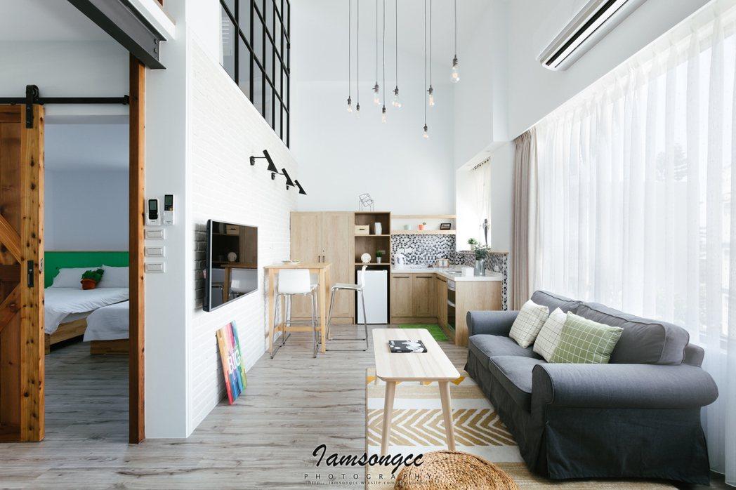 台東,北歐簡約樓中樓。 Airbnb /提供