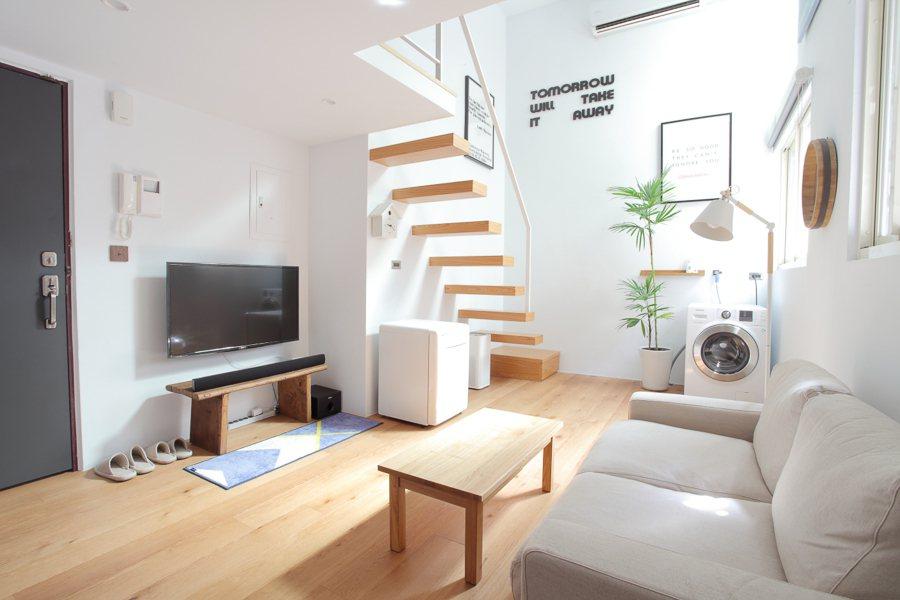 新北市,日式極簡風小宅。 Airbnb /提供