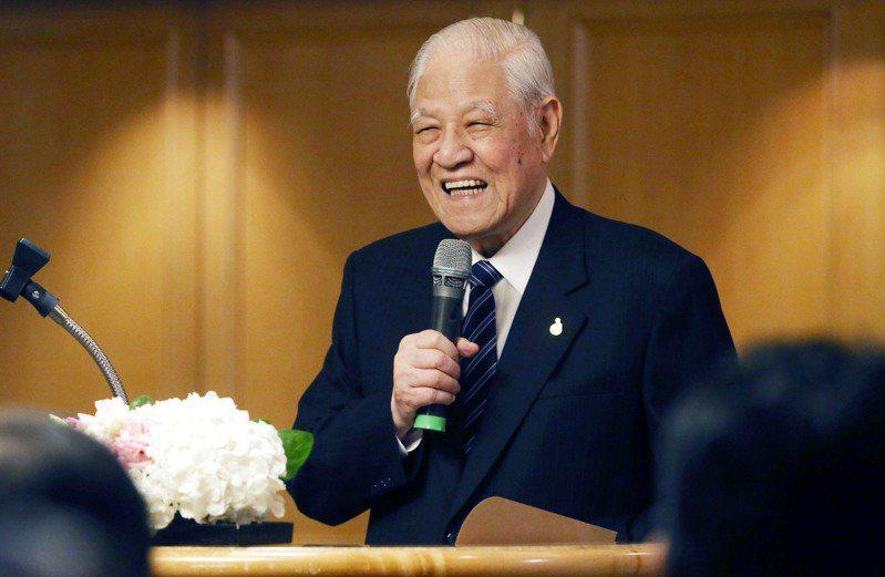 前總統李登輝於7月30日晚間7時24分,病逝於台北榮民總醫院,享耆壽98歲。圖/報系資料照