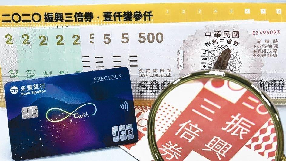 刷永豐現金回饋JCB卡預購紙本「振興三倍券」,每卡戶可回饋6%刷卡金。 永豐銀行...