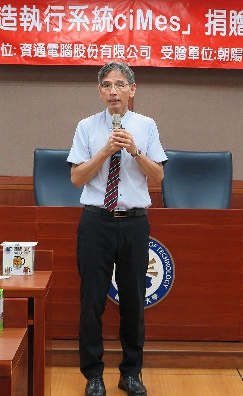 朝陽科大助理副校長兼秘書長廖經芳。 蔣佳璘/攝影