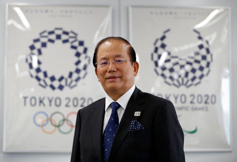 東京奧運籌備委員會秘書長武藤敏郎。 路透