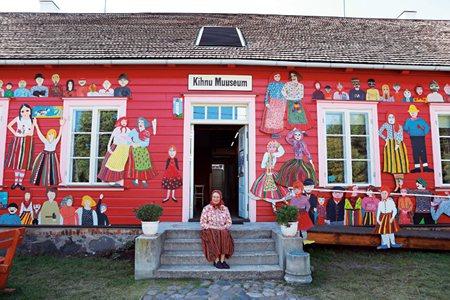 圖說:基努博物館展示基努島的文化和歷史,繽紛的房舍是基努島的特色之一(照片/紐約時報提供)