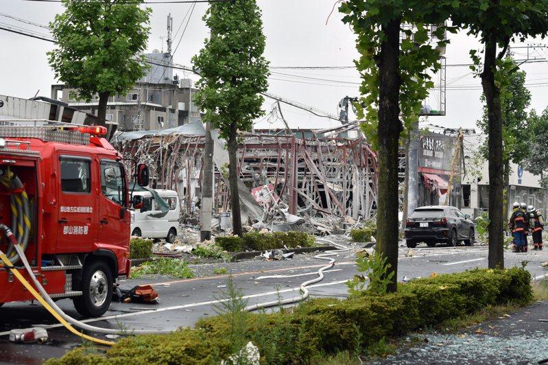 日本福島縣郡山市發生餐廳爆炸意外,造成1人死亡17人受傷。歐新社