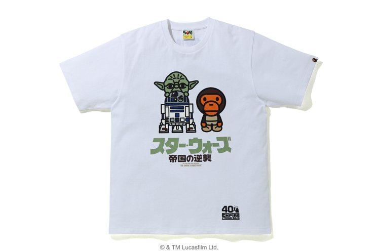 Bape星際大戰聯名T恤3,199元。圖/i.t提供