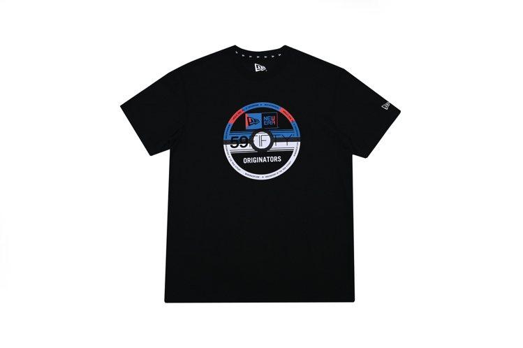 New Era精靈寶可夢聯名系列T恤1,680元。圖/New Era提供