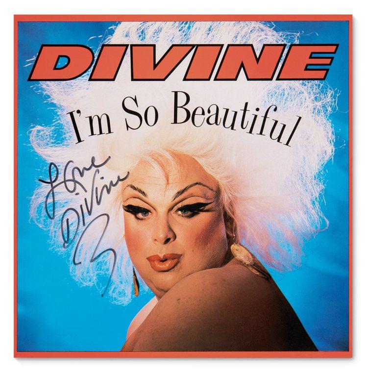 Greg Gorman攝影、Divine簽名的《I'm So Beautiful...