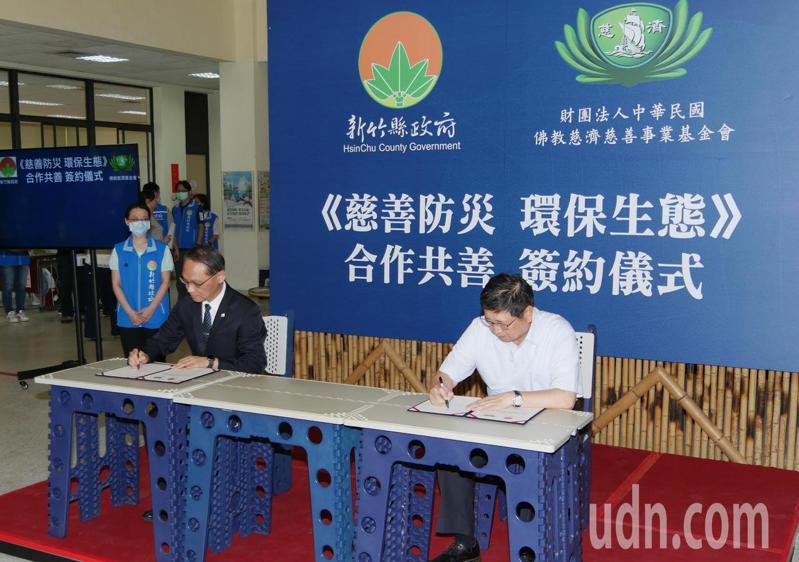 為了讓長者生活更安全,新竹縣政府今年6月與慈濟基金會簽約合作,推動長者居家環境安全改善方案。記者陳斯穎/攝影