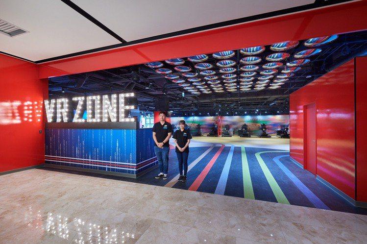 宏匯廣場引進全台獨家VR ZONE。圖/宏匯廣場提供