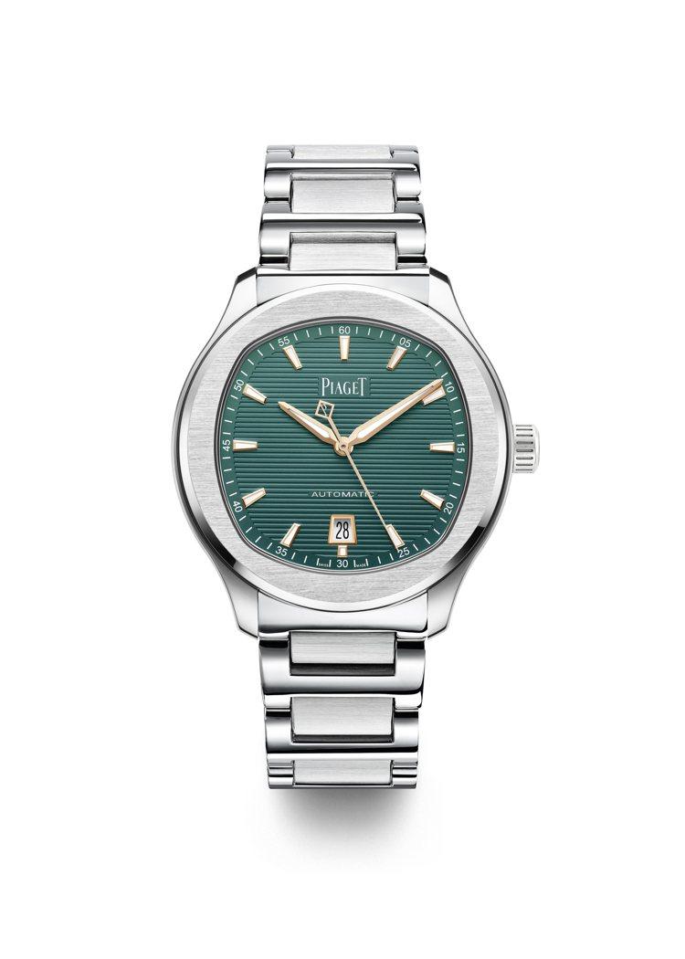 PIAGET,Polo系列,自動上鍊腕錶,精鋼,自動上鍊機芯,孔雀綠色錶面,全球...
