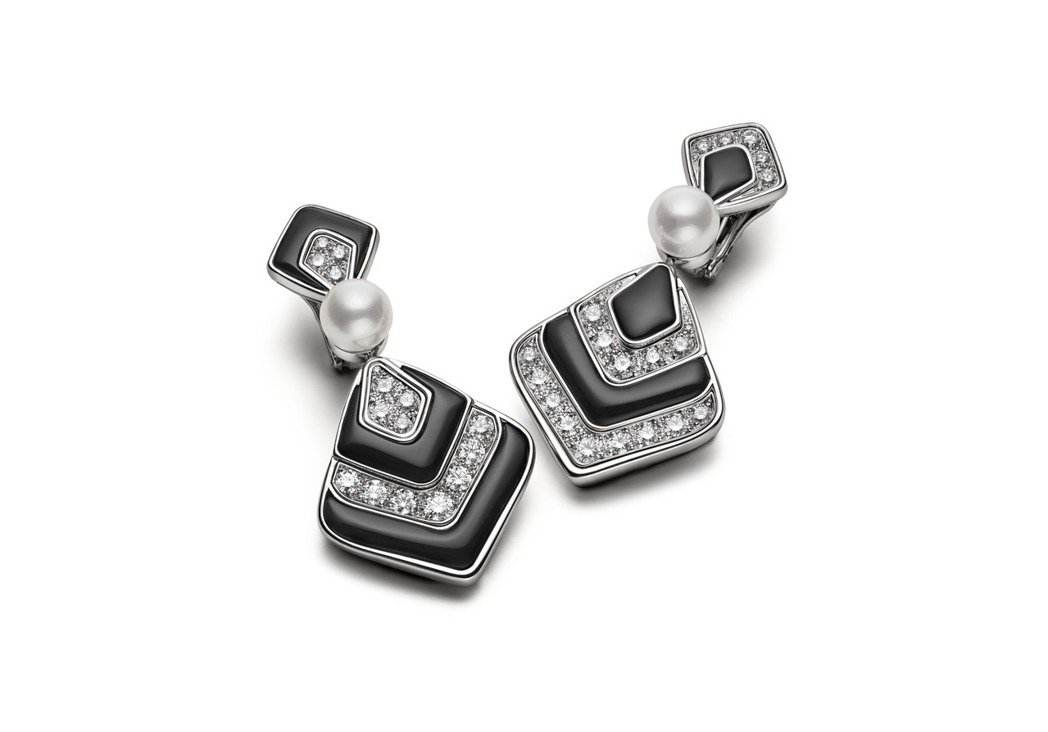 BVLGARI Barocko系列Hypnotic Pearls頂級鑽石、縞瑪瑙...