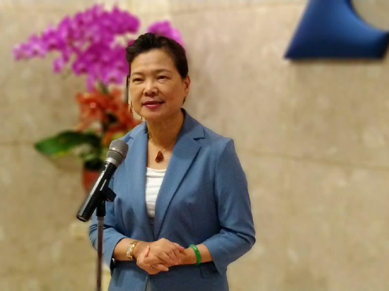經濟部長王美花。記者黃有容/攝影