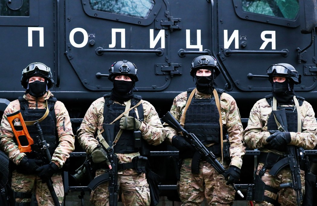 俄國特種部隊的演習,瓦格納也被認為是俄國派軍赴海外的旋轉門。 圖/路透社