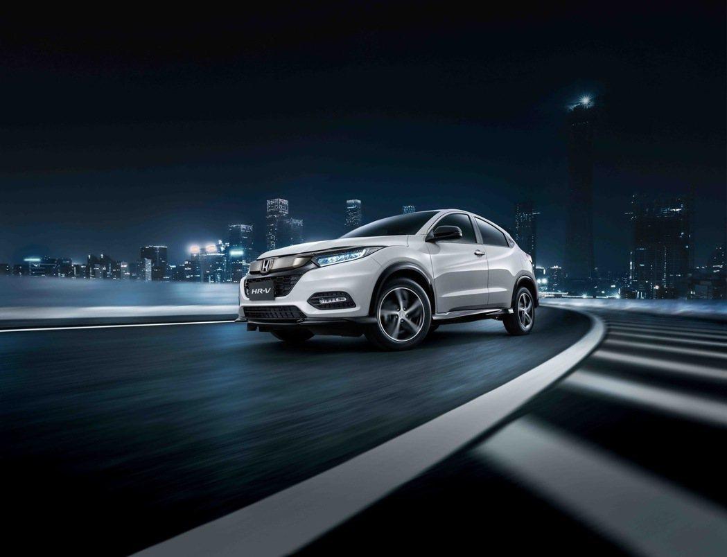 Honda HR-V RS帥勁登場。 圖/HONDA TAIWAN提供